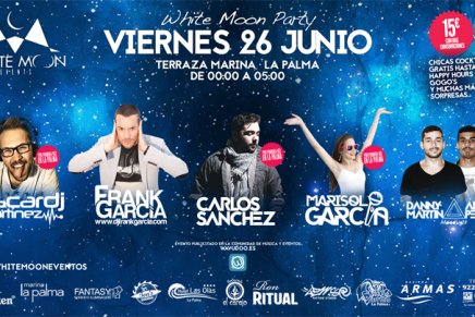 'White Moon Party' en Marina La Palma
