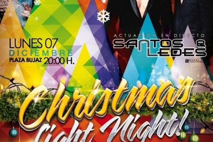 """Christmas Light Night"" en Breña Alta"