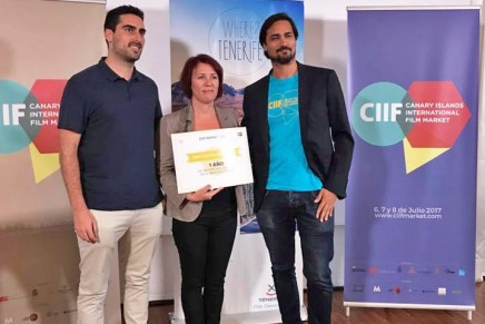 Mercedes Afonso premiada en el Canary Islands International Film Market por 'Sara y las Estrellas'