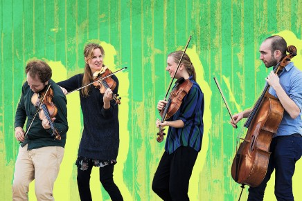 North Sea String Quartet y Rebeca Mora en concierto en La Palma
