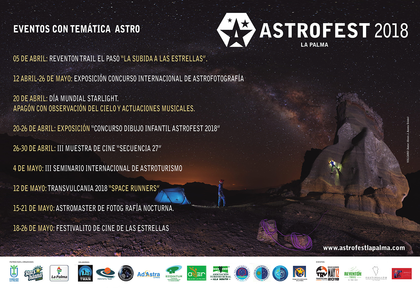 Cartel Astrofest Definitivo