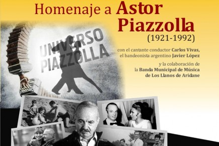 homenaje a Astor Piazzolla